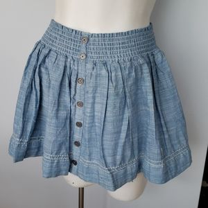 Abercrombie & Fitch chambray skirt